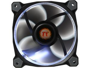 Thermaltake Riing 12 Series High Static Pressure 120mm Circular White LED Ring Case/Radiator Fan CL-F038-PL12WT-A