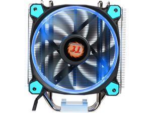 Thermaltake Riing Silent 12 Blue LED 150W Intel/AMD 120mm CPU Cooler CL-P022-AL12BU-A