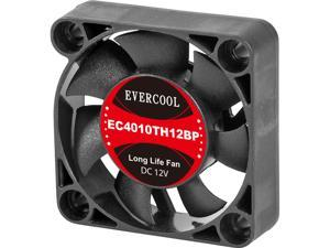 EVERCOOL EC4010TH12BP 40 x 40 x 10 mm Case Fan
