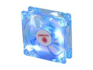 COOLMAX CMF-825-BL 80mm UV Crystal LED Cooling Case Fan