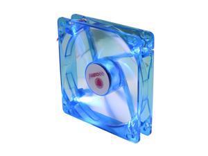 COOLMAX CMF-1225-BL 120mm UV Crystal LED Cooling Case Fan