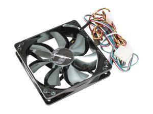 bgears b-flexi120 120mm Multi-Color LED Case Fan