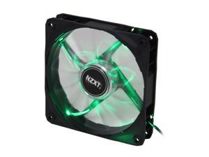NZXT Air Flow Series RF-FZ120-G1 Green LED Case Fan