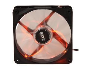 NZXT Air Flow Series RF-FZ120-O1 120mm Orange LED Case Fan