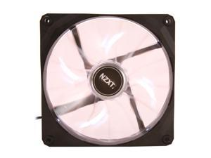 NZXT Air Flow Series RF-FZ140-W1 140mm White LED Case Fan