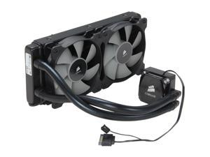 CORSAIR Hydro Series H100i Extreme Performance Water/Liquid CPU Cooler. 240mm