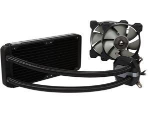 Corsair Hydro Series H100i GTX Extreme Performance Water / Liquid CPU Cooler. 240mm (CW-9060021-WW)