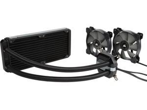Corsair Hydro Series, H100i v2, 240mm Radiator, Dual 120mm PWM fans, Advanced RGB Lighting and Fan control with software, Liquid CPU Cooler