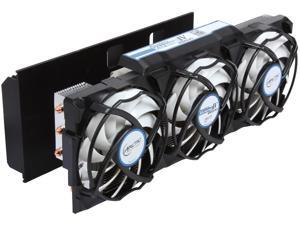 ARCTIC Accelero Xtreme IV 280(X) Enthusiast VGA Cooler-nVidia/AMD, Triple 92mm PWM Fans, Patented Back-Side Heatsink