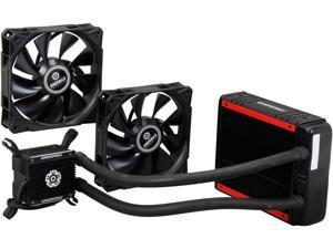 Enermax Liqtech 120X Aluminum All-in-One Liquid Cooler 43MM Thick Radiator w/ Duo 120mm Static Pressure Fan