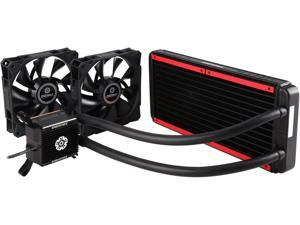 Enermax Liqtech 240 All-in-One Liquid Cooler 27MM Thick Radiator w/ Duo High Pressure Airflow Fans