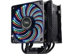 ENERMAX ETS-T50A-BVT Twister Aluminum 120mm CPU Cooler with DFR (Dust Free Rotation) Vegas Fan with 3 color LED