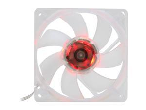 SilenX EFX-08-15R 80mm Red LED Effizio Quiet Case Fan