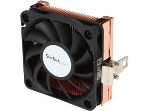 StarTech.com 1U 60x10mm Socket 7/370 CPU Cooler Fan with Copper Heatsink & TX3 FAN3701U (Black)