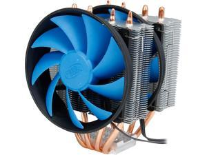 DEEPCOOL FROSTWIN CPU Cooler  4 Heatpipes Twin-tower Heatsink Dual 120mm Fans One with PWM