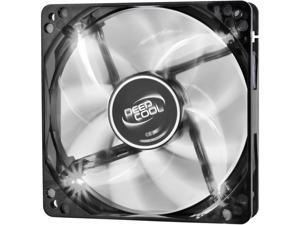 DEEPCOOL WIND BLADE 120 Hydro Bearing Semi-transparent Black Fan with White LED