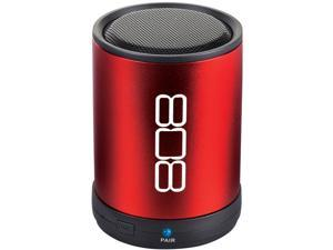 Audiovox Speaker System - 2 W RMS - Wireless Speaker(s) - Red