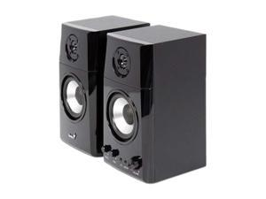 Genius 31730027102 2.0 30-watt Two-way Hi-Fi Wood Speakers