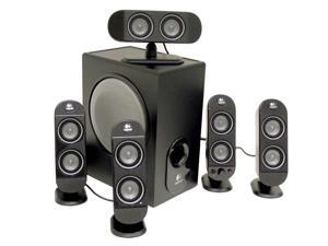 Logitech X-530 70 watts RMS 5.1 Black Speaker System