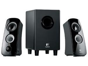 Logitech 980-000355 30 Watt 2.1 Z-323 - Speaker System - for PC
