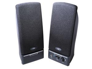 Cyber Acoustics CA-2012RB 1.5 Watts 2.0 Desktop Speaker System - Black