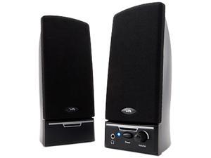 Cyber Acoustics CA-2014WB 1.5 watts 2.0 Desktop Speaker System - Black