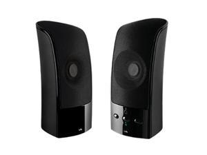 Cyber Acoustics CA-896 2.0 2-piece Speaker System with USB Charging Input