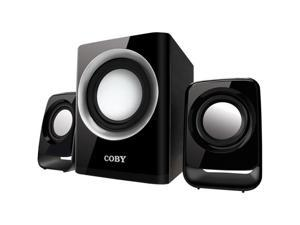 COBY CSMP67 2.1 50W Multimedia Speaker System