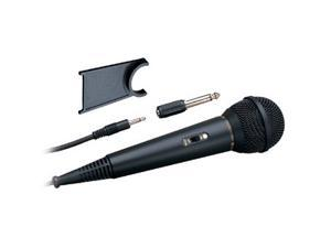 Audio-Technica ATR-1200 Black 3.5mm/ 6.3mm Connector Cardioid Vocal Microphone