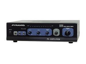 Pyramid PA105 80 Watt Microphone PA Amplifier w/70V Output