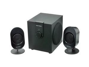 Gear Head SP3500ACB 12w RMS 24w Peak 2.1 Powered Studio Speaker System