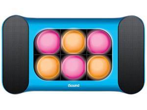 i.Sound ISOUND-5244 2.0 Speaker System - 3 W RMS - Blue