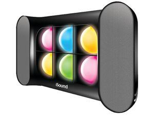 i.Sound ISOUND-5257 2.0 Speaker System - 6 W RMS - Wireless Speaker(s) - Black