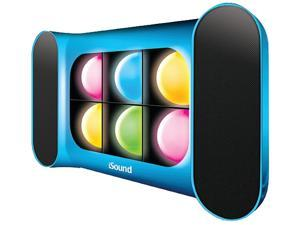 i.Sound ISOUND-5259 2.0 Speaker System - 6 W RMS - Wireless Speaker(s) - Blue
