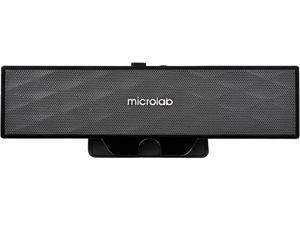 Microlab B51 Portable USB-Powered Clip-on Speakers with 3.5 mm Jack