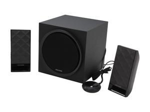 Microlab SP-M850BK 40 Watt 2.1 Subwoofer Speaker for PC and Multimedia Entertainment (Black)