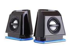 GOgroove BassPULSE 2MX USB Powered 2.0 Channel Computer Speakers for Apple Macbook Pro , Air / Toshiba / HP / Asus / Acer ...