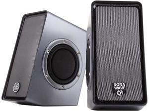 GOgroove SonaVERSE O2 USB Powered Computer Speakers with Dual Side-Firing Passive Woofers for Laptops, Mac, Notebooks, Netbooks, ...