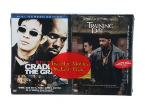 Cradle 2 the Grave / Training Day (DVD)-NLA Denzel Washington, Ethan Hawke, Jet Li, DMX, Mark Dacascos
