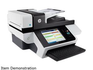 HP Scanjet Enterprise 8500 fn1 L2717A Single-pass Duplex Document Capture Workstation