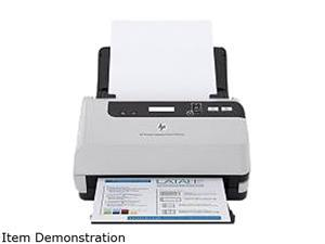 HP L2730B#B19 48 bit CCD 600 x 600 dpi Sheet Fed Document Scanner