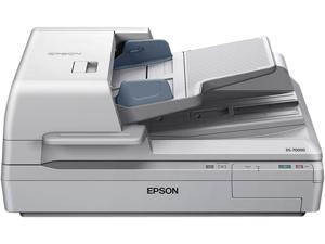 EPSON WorkForce DS-70000 (B11B204321) Input: 16 bit / pixel / color Output: 8 bit / pixel / color CCD 600 dpi Duplex Document ...