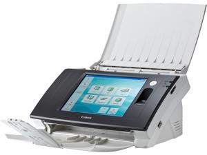 Canon ScanFront 300P 4575B002 Sheet Fed Compact Network Scanner with Fingerprint and LCD Panel