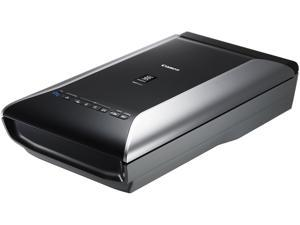 Canon 6218B003 48-bit internal/48 or 24-bit external Charged-Coupled Device (CCD) 12-line colour 9600 x 9600 dpi (film) / 4800 x 4800 (all other media) Flatbed Document Scanner