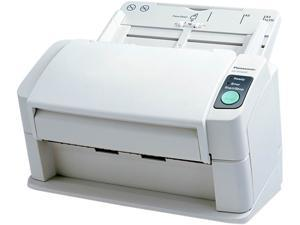 Panasonic KV-S1025C-S Background: Black 600 dpi Duplex High Speed Color Document Scanner