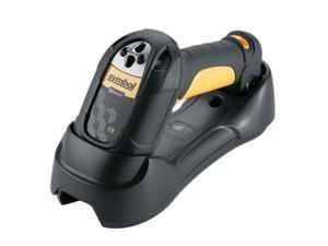 Motorola LS3578-ERBU0100UR Barcode Scanner (Yellow) – USB Kit with Cradle