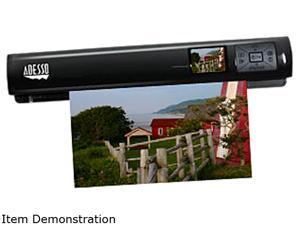 Adesso EZScan 320 EZScan 320 CIS Photo 1200 dpi Portable Handheld Scanner