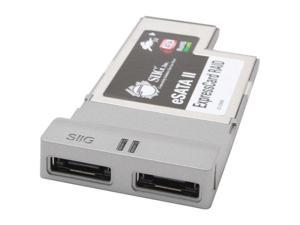 SIIG SC-SAE612-S1 2 x eSATA II ExpressCard RAID