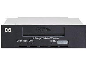 HP Q1580B Black 160GB Internal USB 2.0 Interface DAT160 Tape Drive