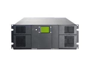 Tandberg StorageLibrary T40+ 8156-LTO 4U Rackmount 10 base T Ethernet Interface Tape Library, 40 Slots (no drives included)